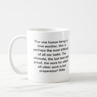 Love&Rilke Coffee Mug