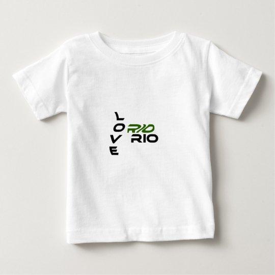 Love Rio Green Baby T-Shirt