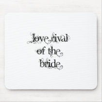 Love Rival of the Bride Mouse Pad