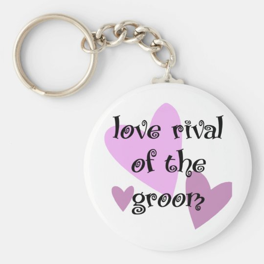 Love Rival of the Groom Keychain