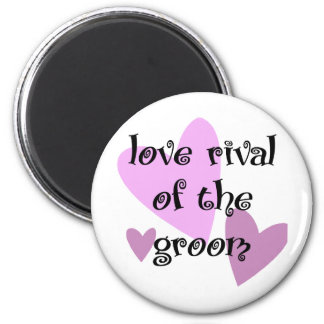 Love Rival of the Groom Magnet