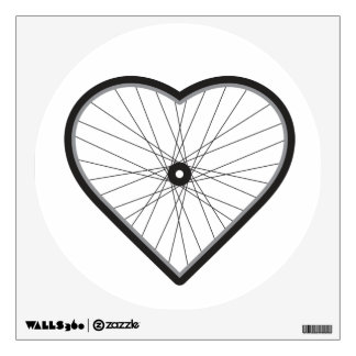 Love Road Cycling Wall Sticker