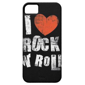 Love Rock N' Roll iPhone SE/5/5s Case