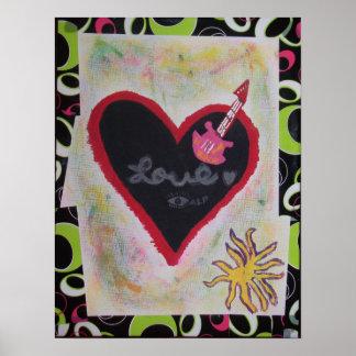 Love Rock N Roll Print
