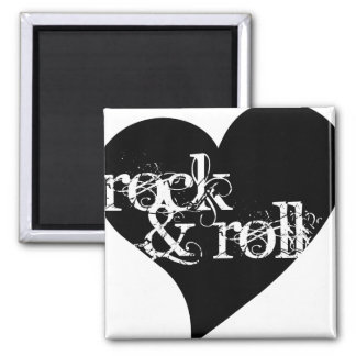 Love Rock & Roll Design Magnet