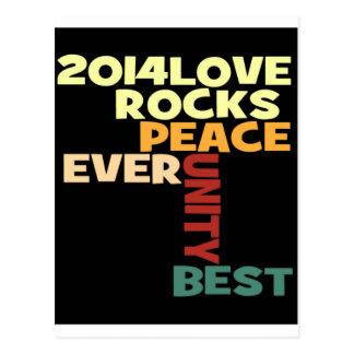 Love Rocks Postcard