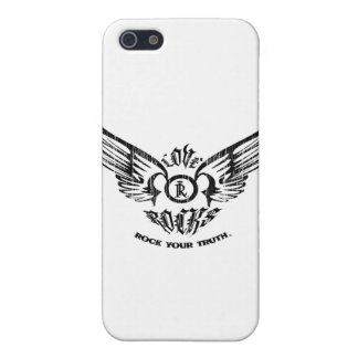 LOVE ROCKS Spreading Wings Case For iPhone 5