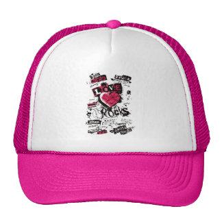 LOVE ROCKS! TRUCKER HAT