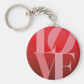 Love Romance Red Pink Keychain
