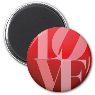 Love Romance Red Pink Magnet