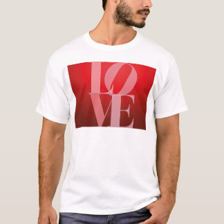 Love Romance Red Pink T-Shirt
