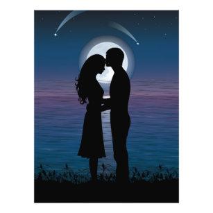 Couple Silhouette Art Amp Wall D 233 Cor Zazzle