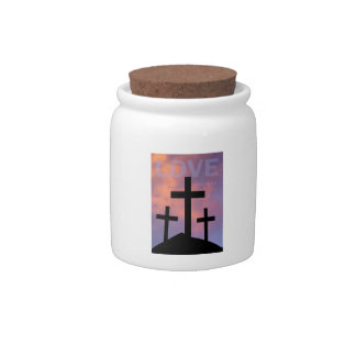 LOVE – Romans 5:8 Candy Dishes