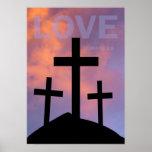 LOVE – Romans 5:8 Poster
