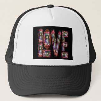 LOVE Romantic Sensual ArtisticScript for Lovers 99 Trucker Hat