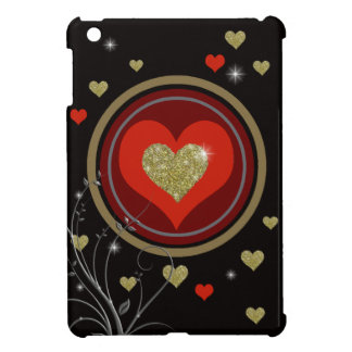love, romantic style iPad mini case