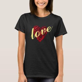 Love Rose Heart Shirt