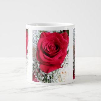Love Rose Jumbo Mug 20 Oz Large Ceramic Coffee Mug