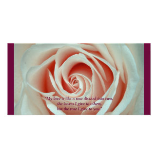 Love Rose Quote Card