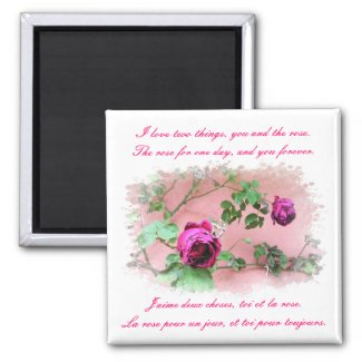 Love & Roses Magnet magnet