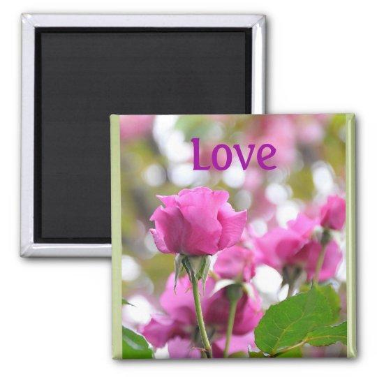 Love Roses Magnet