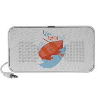 Love Rowing Mp3 Speakers