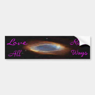 Love*Rulz - All*Ways Car Bumper Sticker