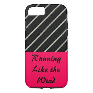 Love Running Rose Black Sport Workout CricketDiane iPhone 7 Case