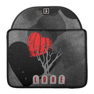 Love s Graveyard MacBook Pro Sleeves