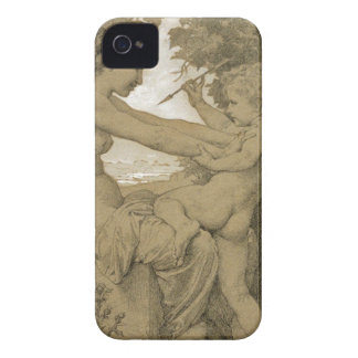 Love`s Resistance by William-Adolphe Bouguereau iPhone 4 Case
