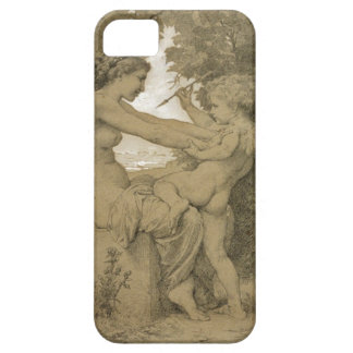 Love`s Resistance by William-Adolphe Bouguereau iPhone 5 Covers