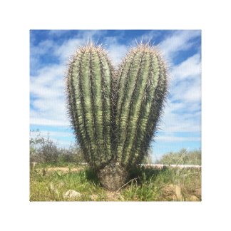 love saguaro canvas