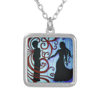 Love Said No Neclace Silver Plated Necklace
