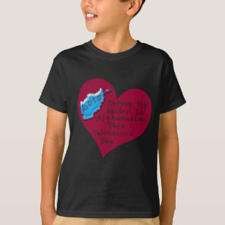 LOVE SAILOR AFGHAN VAL DAY T-Shirt