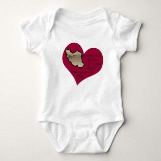 LOVE SAILOR IRAN VAL DAY BABY BODYSUIT