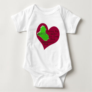 LOVE SAILOR IRAQ VAL DAY BABY BODYSUIT