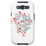 Love Samsung Galaxy Galaxy S3 Cases