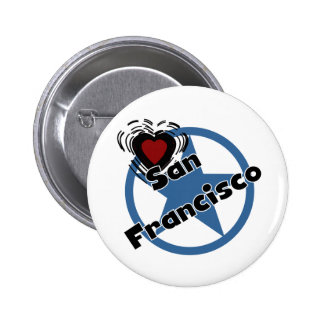 Love San Francisco Pinback Button