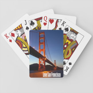 Love San Francisco Playing Cards