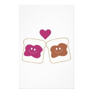 Love Sandwich Stationery