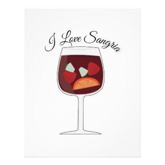 Love Sangria Custom Letterhead