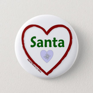 Love Santa Button