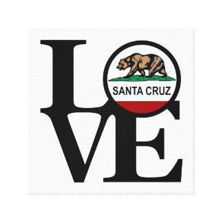 LOVE Santa Cruz Canvas Art