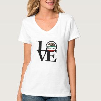 LOVE Santa Cruz V Neck Womens T-Shirt