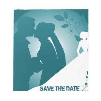 love save the date 2 scratch pads