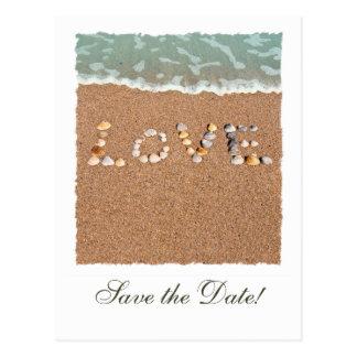 Love Save the Date Postcard