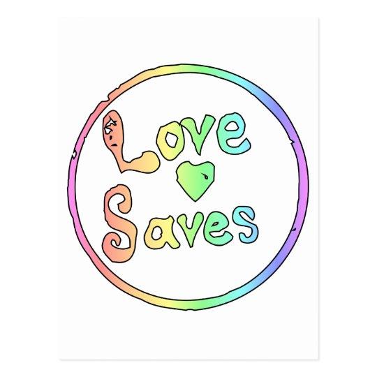 Love Saves Us All Postcard