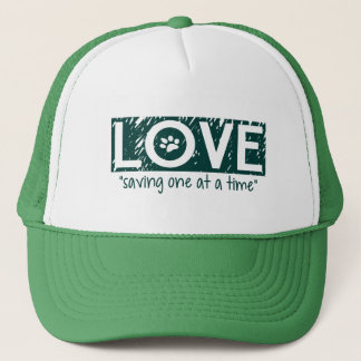 """Love """"saving one at a time"""" Hat"""