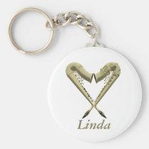 Love Sax Keyring Key Chains at Zazzle