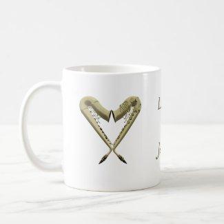 Love Sax Mug mug